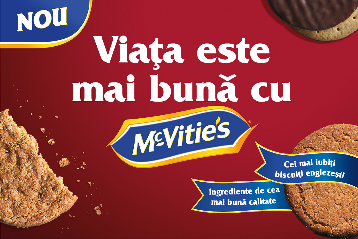 McVities Romania homepage