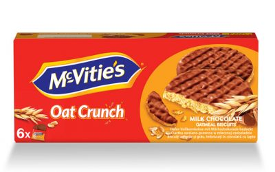 McVitie's Oat Crunch Milk Chocolate 6×37.5g