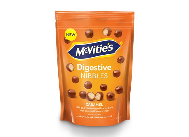 McVitie's Nibbles Caramel & Milk Chocolate 120g