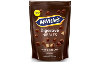McVitie's Nibbles Dark Chocolate 120g